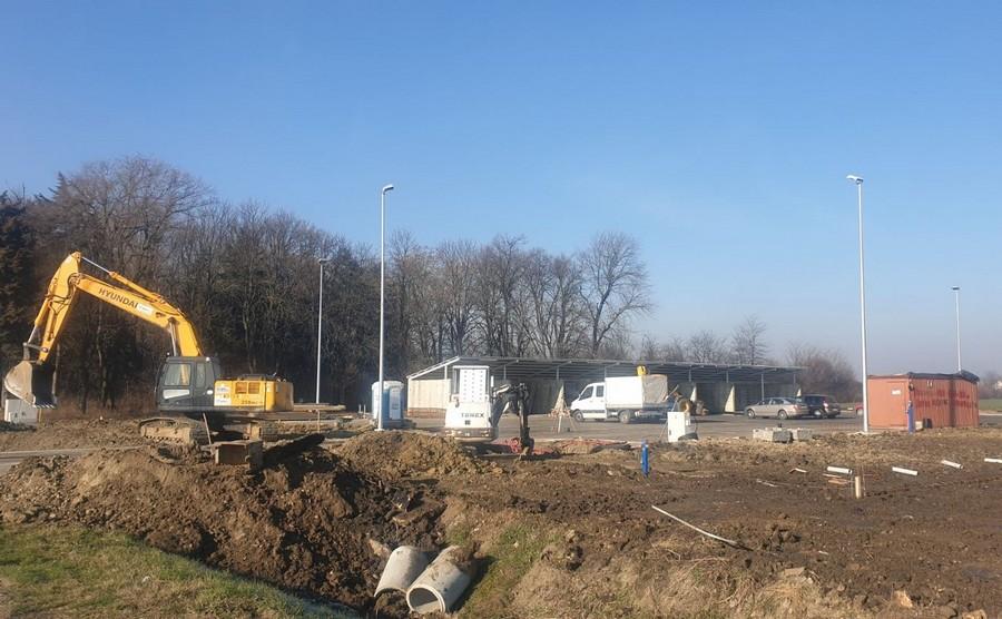 Reciklažno dvorište u Čepinu uskoro gotovo! Radovi se privode kraju